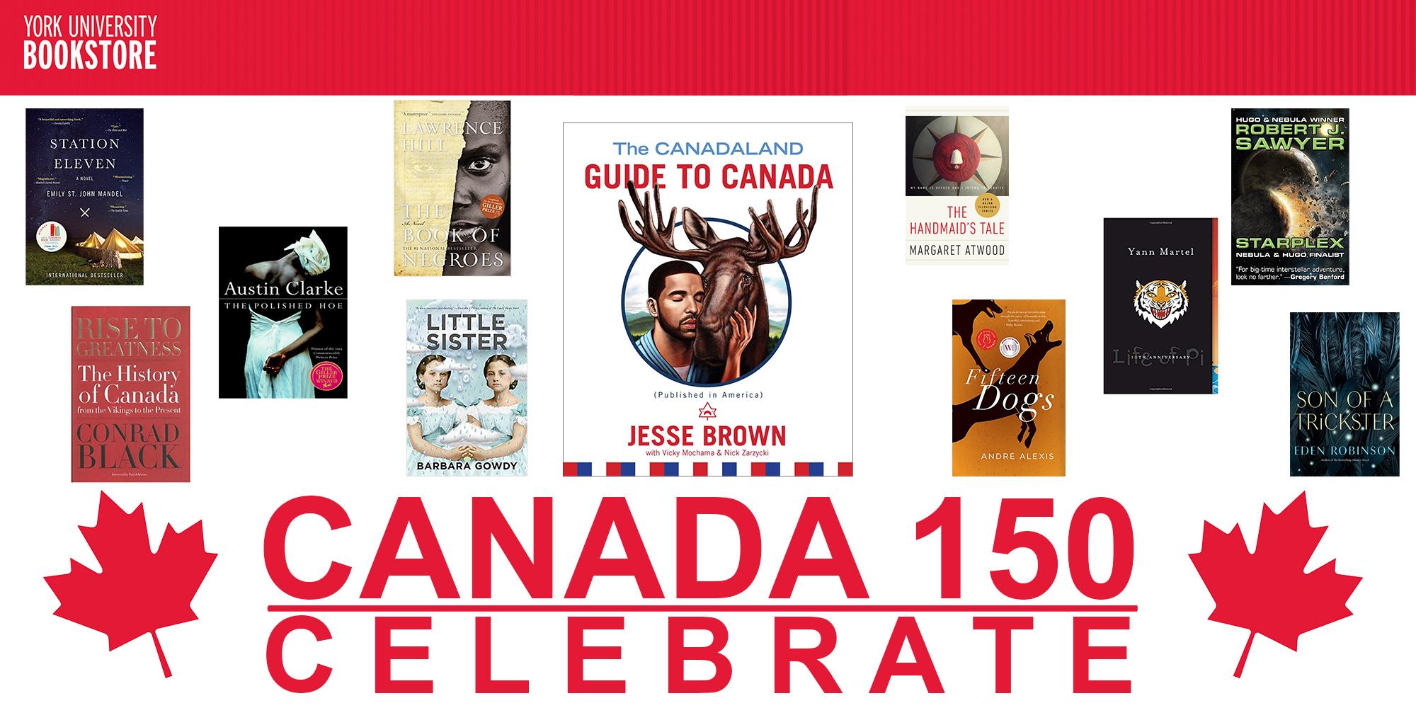 Win Your Books Fall 2017 Canada 150 Years Canada 150 Years