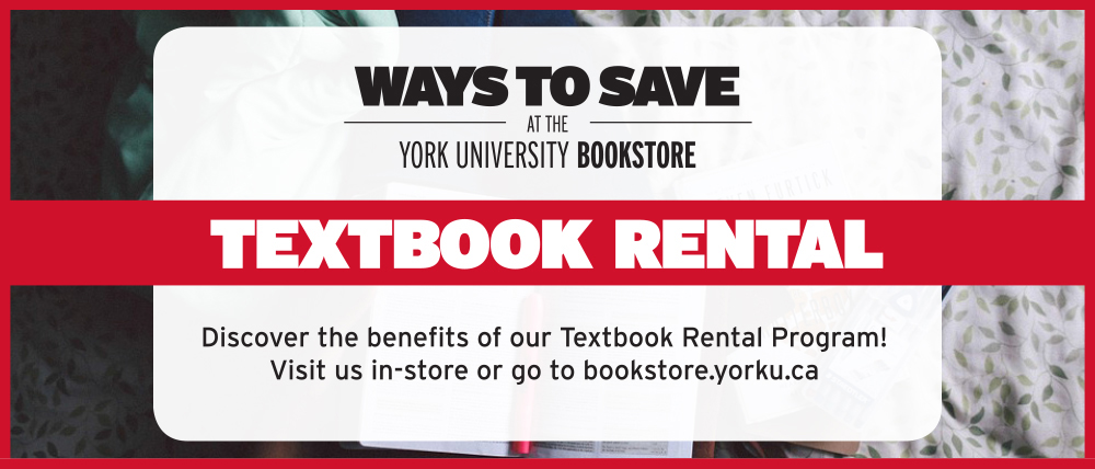 Welcome York University Bookstore